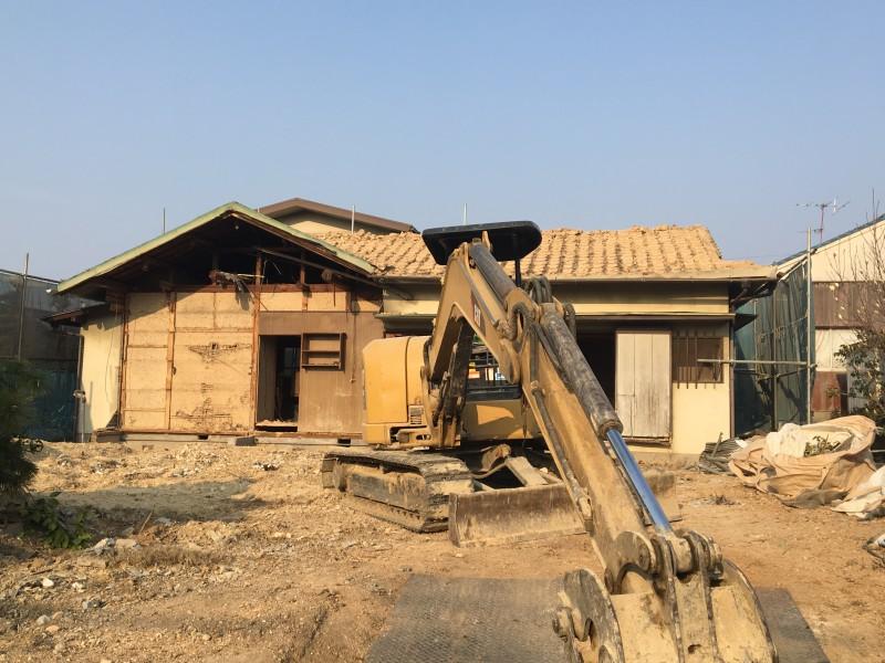 名古屋市緑区の平屋住宅解体工事