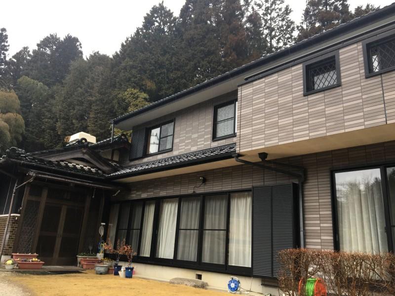 岐阜県恵那市の切離し解体工事お見積もり調査