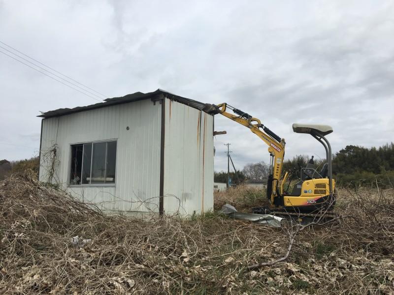 名古屋の倉庫撤去処分