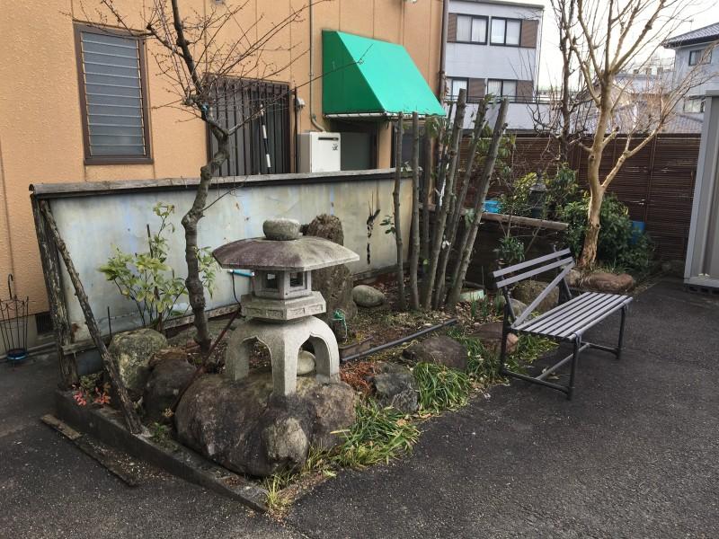 愛知県犬山市の灯篭の撤去処分お見積り調査
