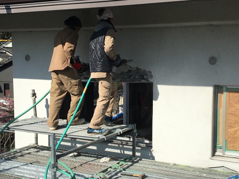 名古屋市コンクリートはつり工事