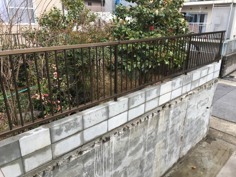名古屋市のフェンス設置