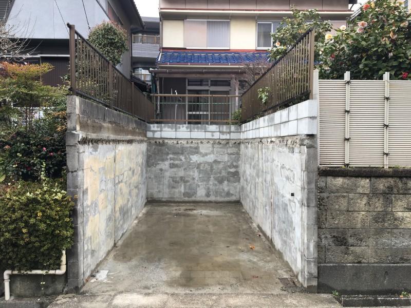 名古屋市のブロック塀設置