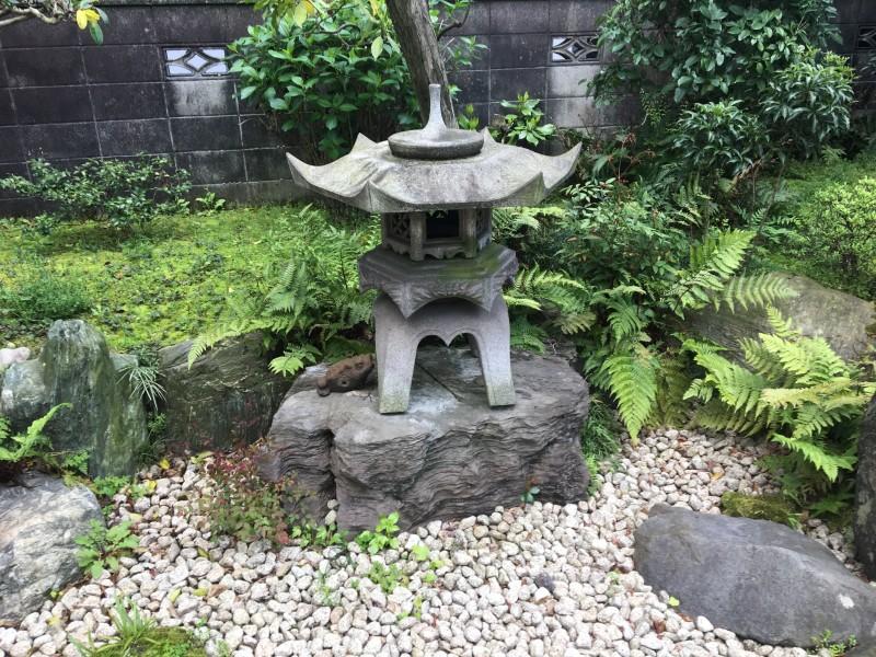 名古屋市守山区の灯篭の撤去処分お見積り調査
