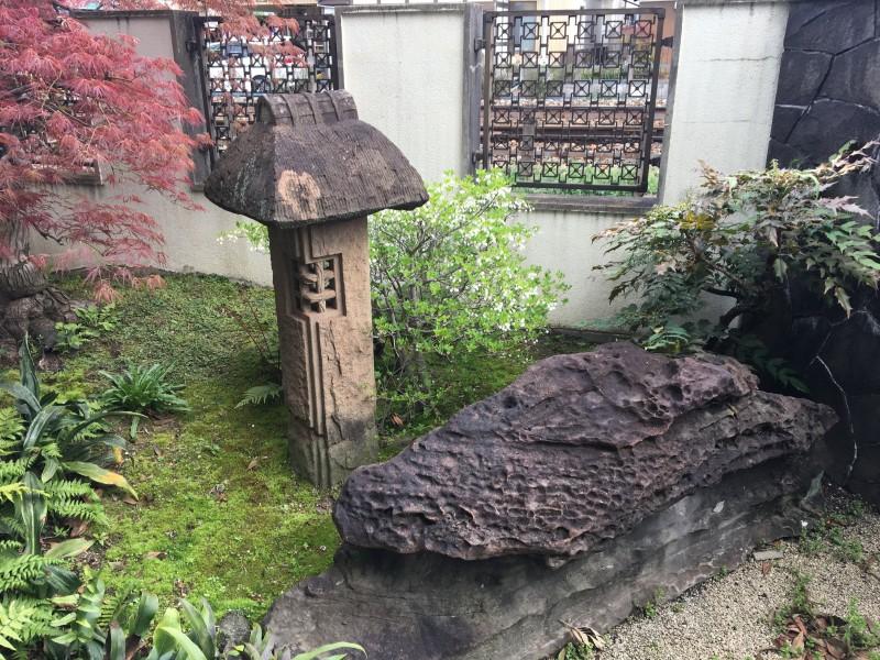 岐阜県岐阜市の灯篭の撤去処分お見積り調査