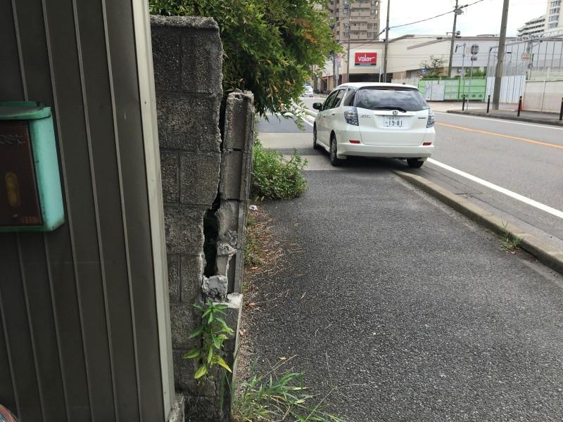 ブロック塀の解体工事|名古屋市港区