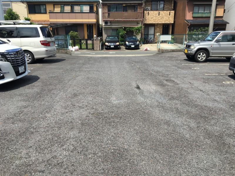 アスファルト舗装の撤去 名古屋市中村区