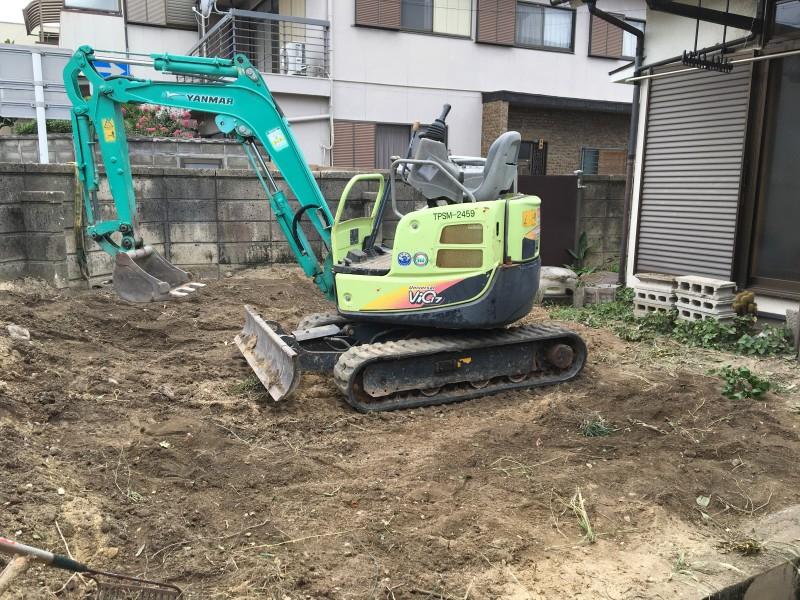 庭石の撤去処分|名古屋市南区