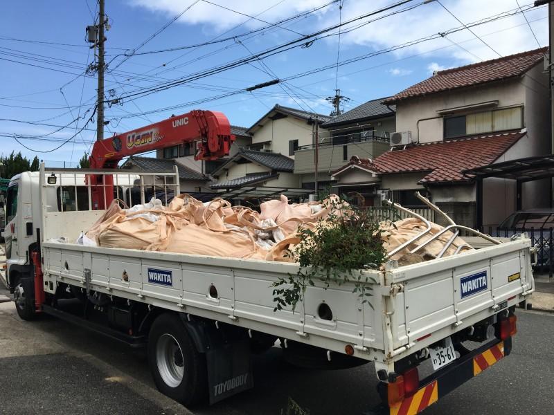 残土の撤去処分 名古屋市南区
