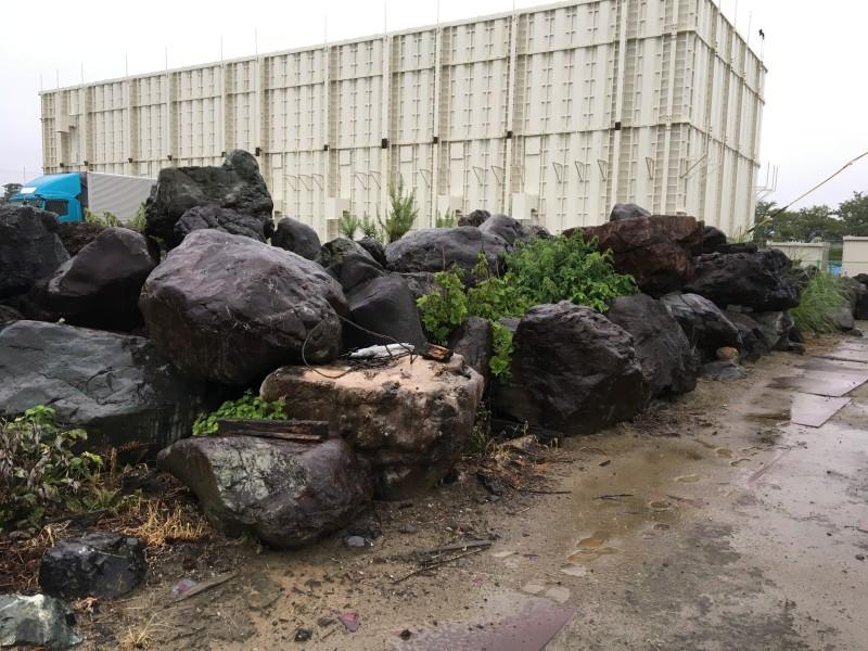 愛西市の庭石撤去お見積り