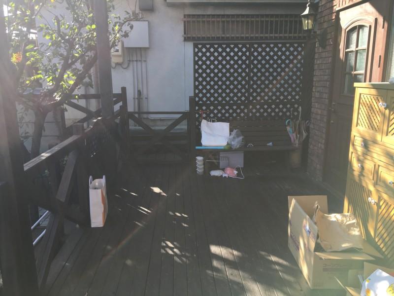 名古屋市緑区|ウッドデッキ解体工事お見積り
