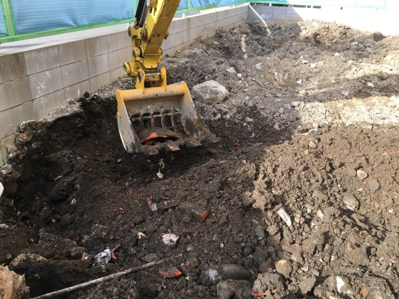 コンクリートがれき撤去|名古屋市西区