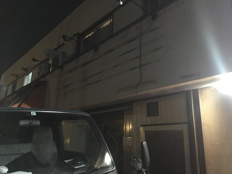 看板撤去の施工後|稲沢市