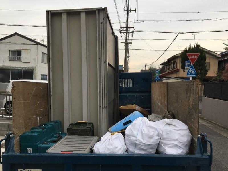 名古屋市南区の土間コンクリート撤去完工