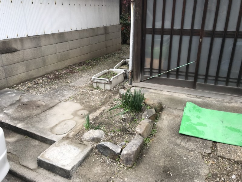 名古屋市千種区のブロック塀撤去工事|完工