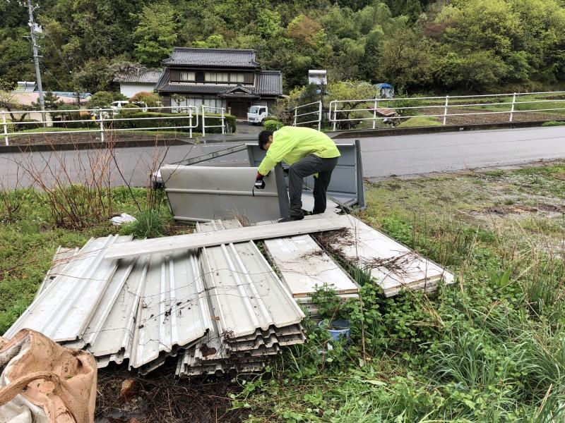 倉庫の撤去|名古屋市北区