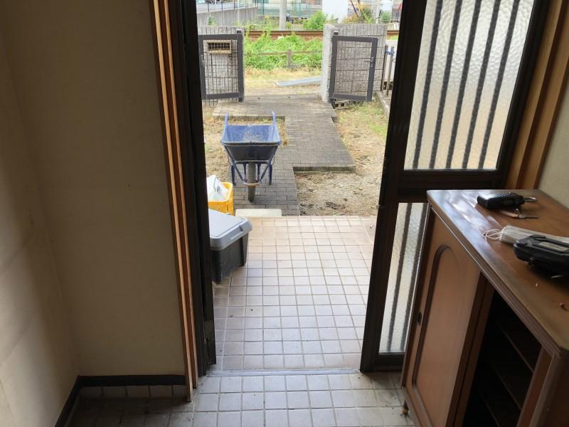 お風呂の解体 搬出経路 愛知県犬山市
