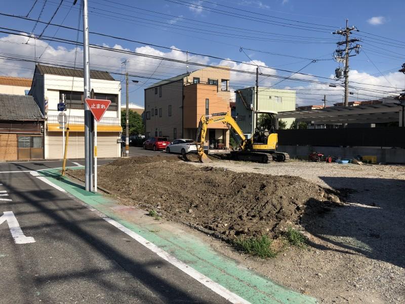 名古屋市中村区|フェンス撤去工事が完工