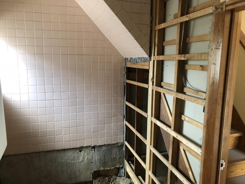 お風呂の解体|完工|愛知県犬山市