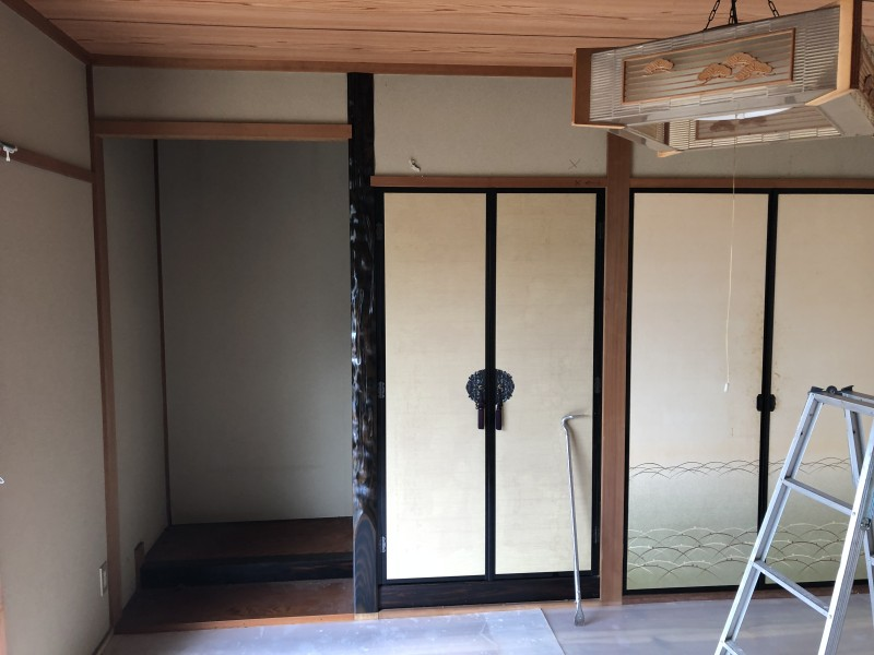 内装解体|間仕切り壁の撤去