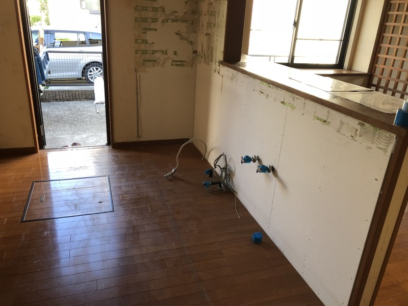名古屋市中川区|キッチン撤去|完工