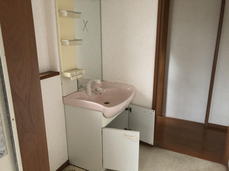 名古屋市中川区|洗面台の解体撤去