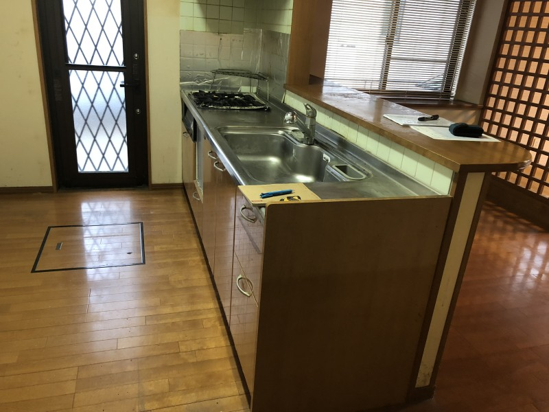 名古屋市中川区|キッチン撤去|施工前