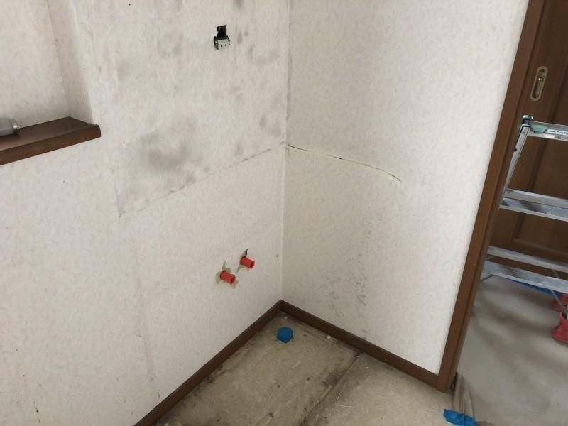 名古屋市中川区|洗面台の解体撤去|完工
