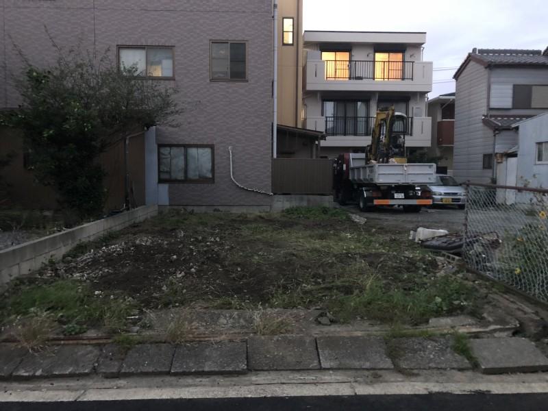 名古屋市中村区フェンス撤去|完工後
