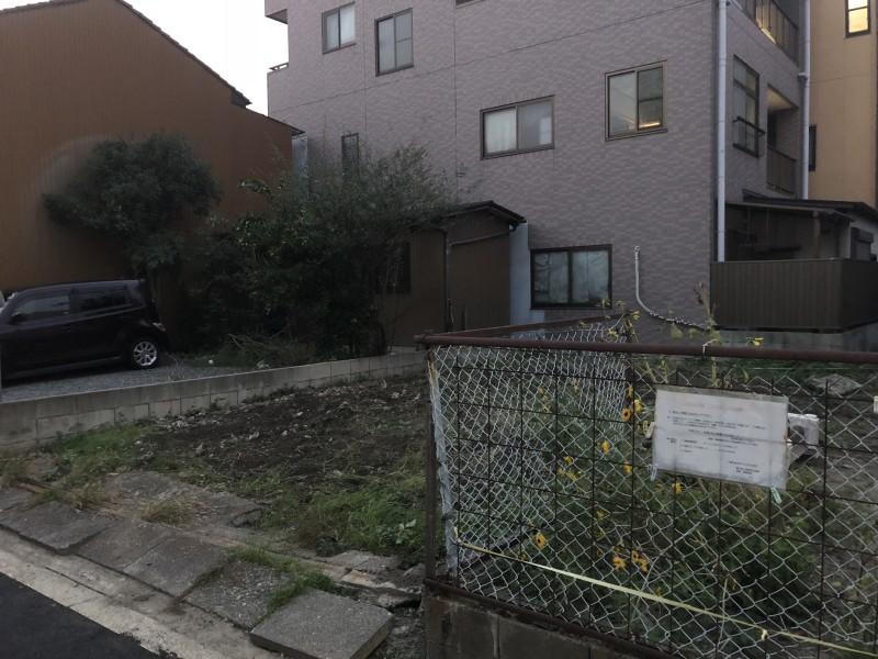 名古屋市中村区フェンス撤去 完工後