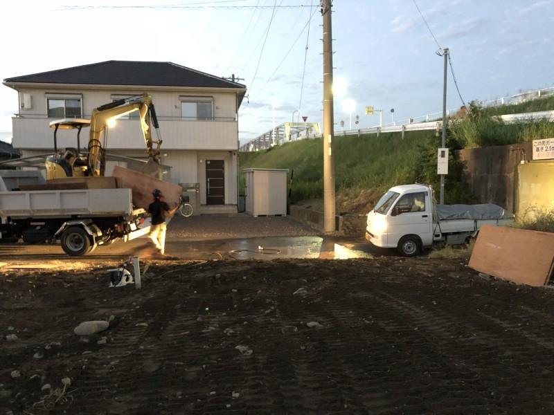 江南市ブロック塀解体|完工
