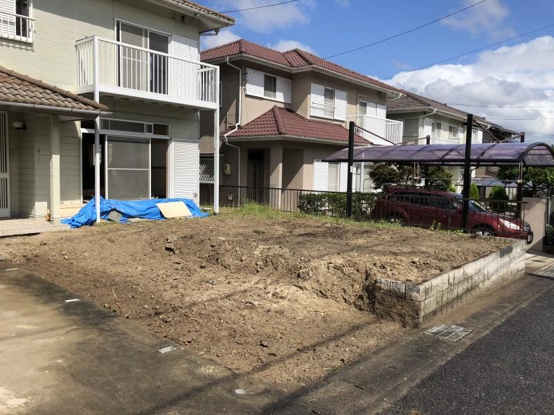 岐阜県可児市|お庭の解体が完工