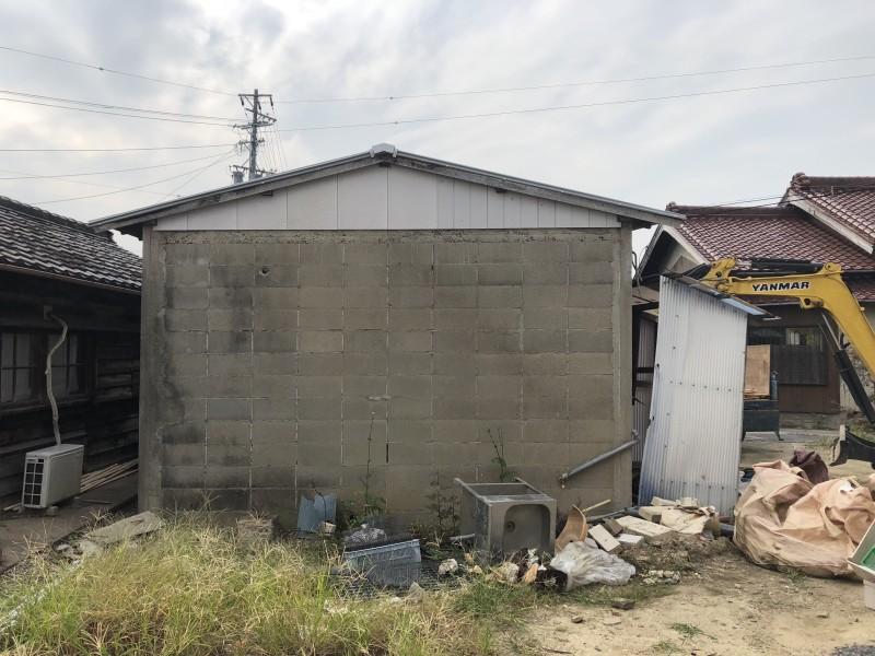 刈谷市 倉庫の解体工事 施工前