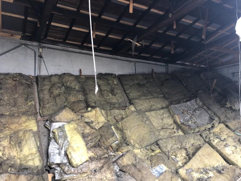 刈谷市|倉庫の解体工事|内装解体