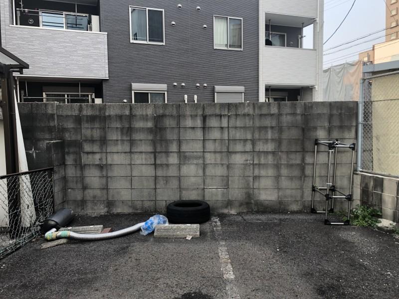 名古屋市東区ブロック塀の撤去お見積り