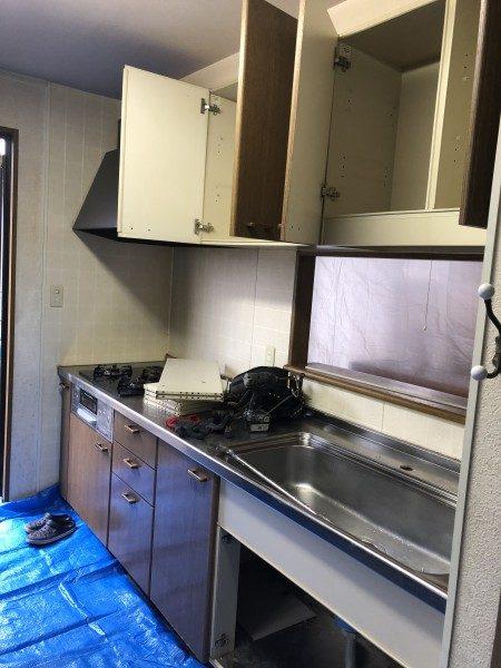 キッチン解体|名古屋市名東区