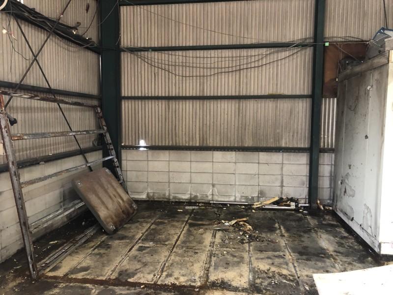 解体後|名古屋市守山区|業務用冷蔵庫の解体