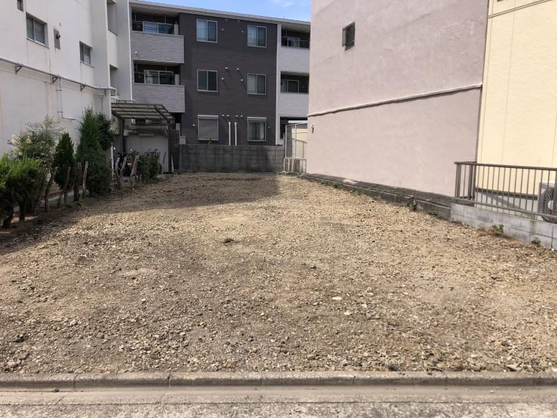 名古屋市東区のアスファルト舗装撤去が完工しました