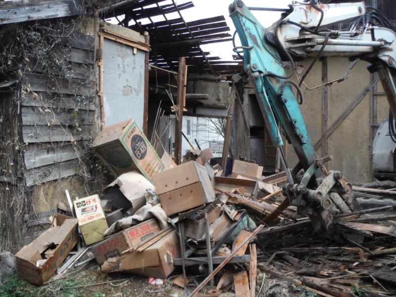 【施工事例】愛知県刈谷市の木造平家建て住宅の解体工事