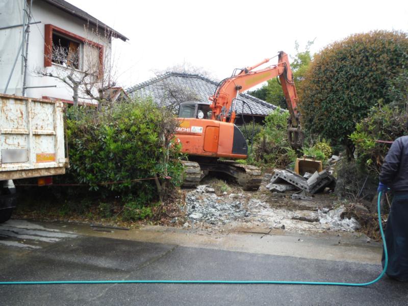 名古屋市天白区2階建て解体工事