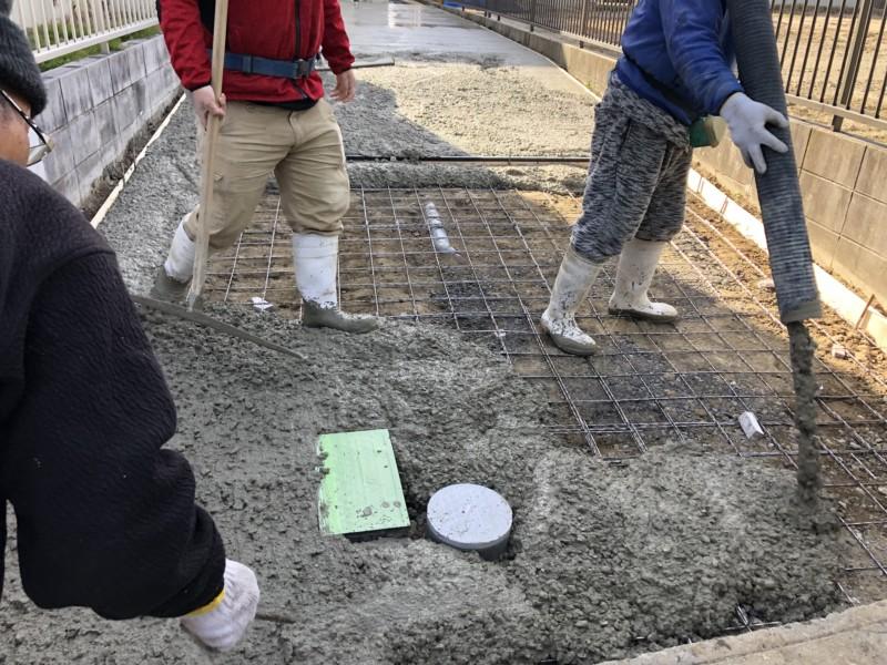 駐車場の乗り入れコンクリート工事の費用と手順