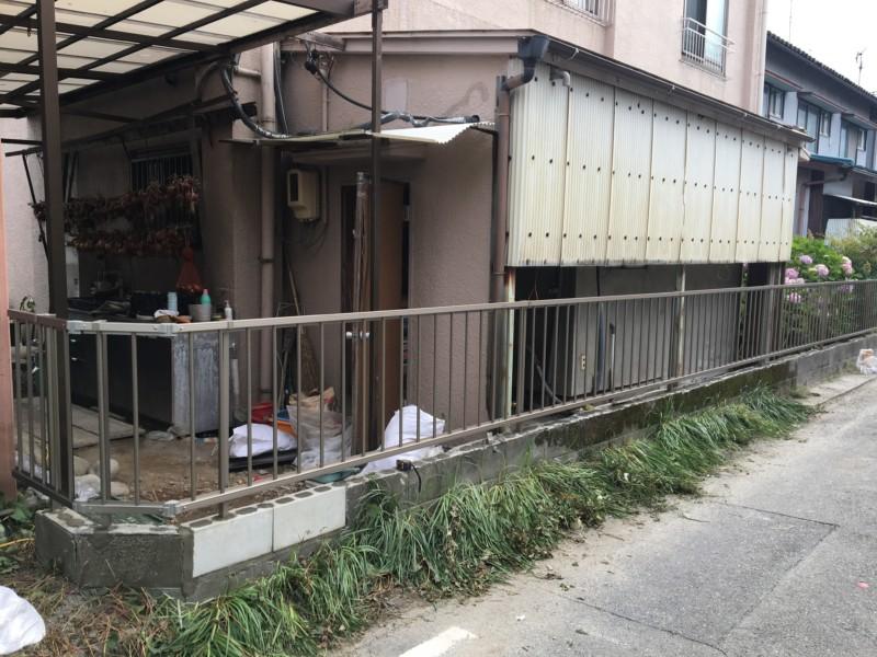 愛知県小牧市ブロック塀の撤去【補助金申請】