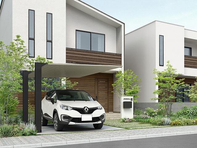 駐車場のデザイン