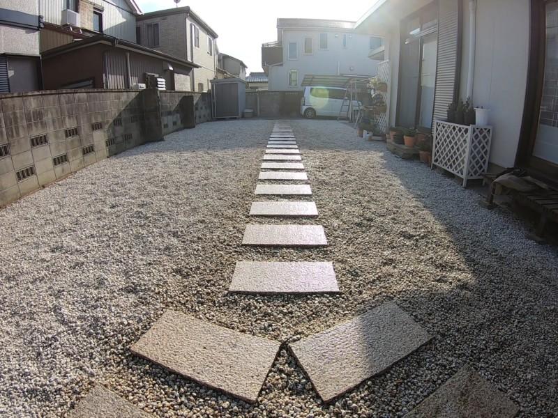 愛知県安城市お庭のリフォーム