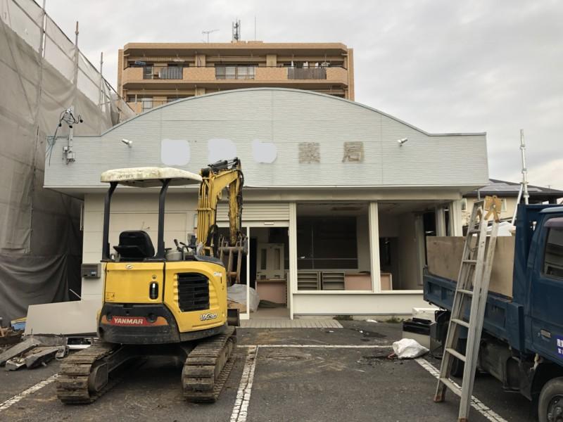 愛知県稲沢市の木造平屋建て家の解体工事【32坪90万円】