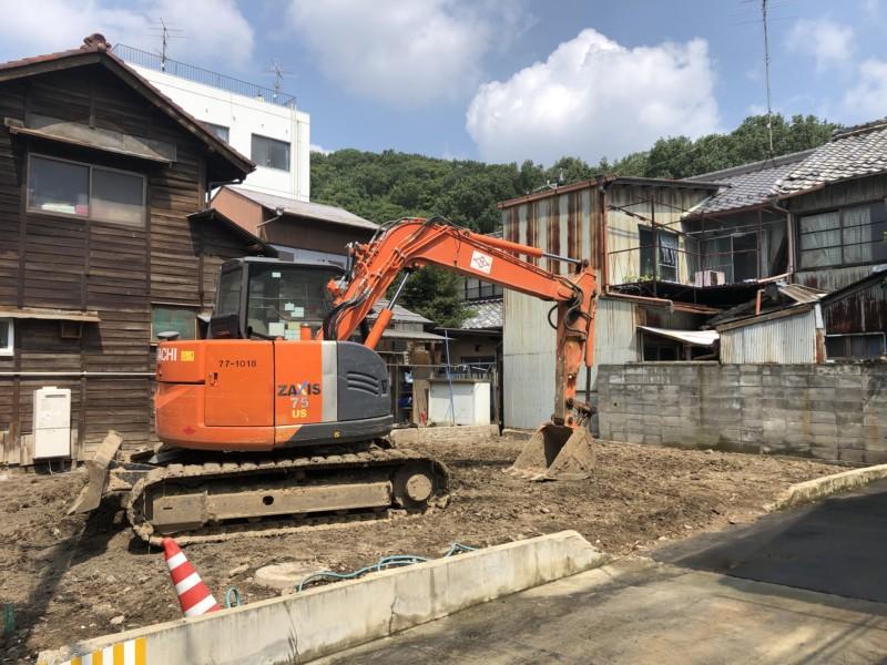 愛知県小牧市の木造平屋建て家の解体工事【20坪60万円】