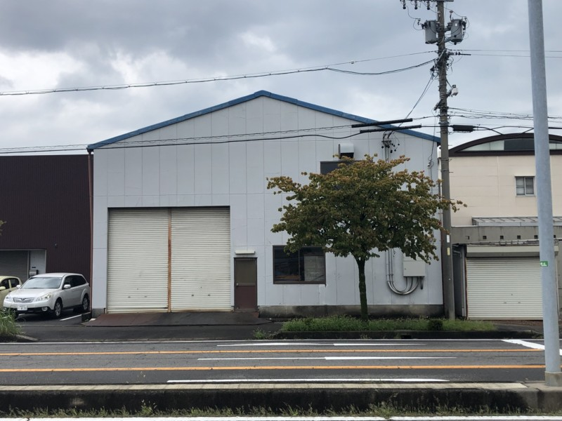 名古屋市西区の鉄骨造倉庫の解体工事【70坪280万円】
